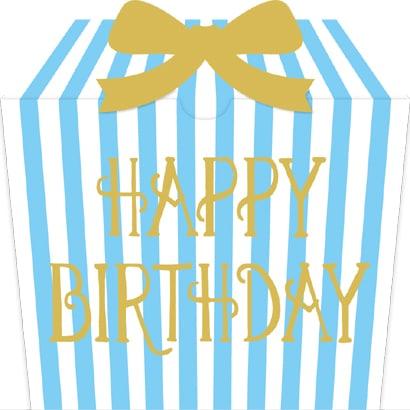 moovinカード GIFTBOX Happy Birthday
