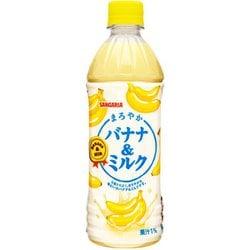 まろやかバナナ&ミルク 500mL [24本]
