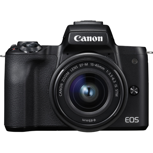 EOS Kiss M EF-M15-45 IS STM レンズキット ブラック [ボディ(ブラック)+交換レンズ「EF-M15-45mm F3.5-6.3 IS STM」]