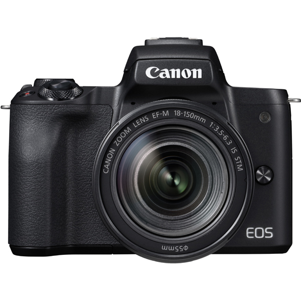 EOS Kiss M EF-M18-150 IS STM レンズキット ブラック [ボディ(ブラック)+交換レンズ「EF-M18-150mm F3.5-6.3 IS STM」]