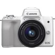 EOS Kiss M EF-M15-45 IS STM レンズキット ホワイト [ボディ(ホワイト)+交換レンズ「EF-M15-45mm F3.5-6.3 IS STM」]
