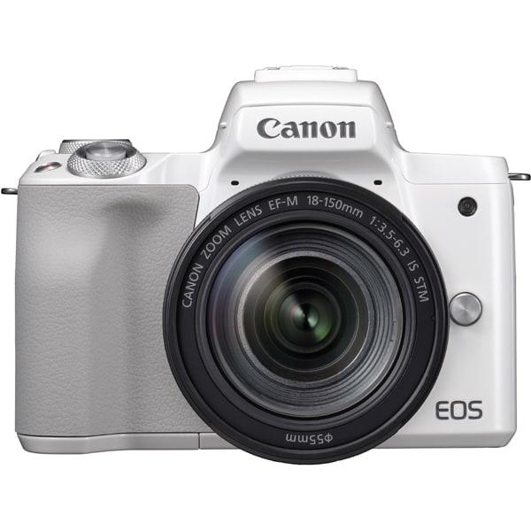 EOS Kiss M EF-M18-150 IS STM レンズキット ホワイト [ボディ(ホワイト)+交換レンズ「EF-M18-150mm F3.5-6.3 IS STM」]