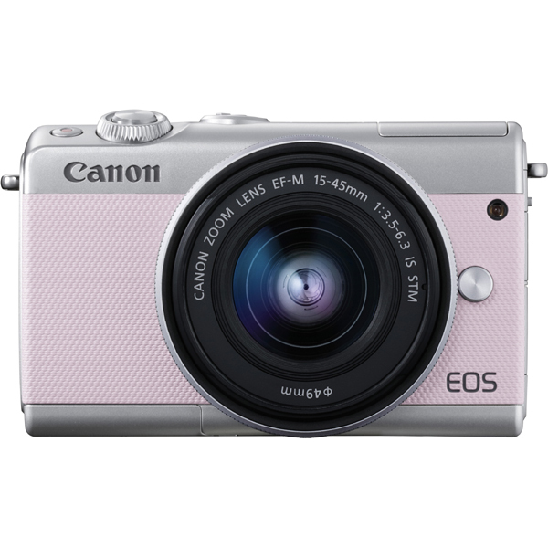 EOS M100 リミテッドキット ピンク [ボディ(ピンク)+交換レンズ「EF-M15-45mm F3.5-6.3 IS STM」]