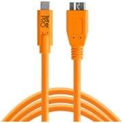 CUC3315-ORG [TetherPro USB-C to 3.0 Micro-B 4.6m オレンジ]