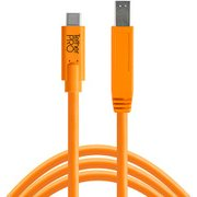 CUC3415-ORG [TetherPro USB-C to 3.0 Male B 4.6m オレンジ]