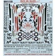 FRD48-011 [アメリカ海軍 F-4B ファントム ブラボー・ミグキラー Part.1 1/48 デカール]