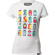T-Shirt CANISTERS FEMALE M [Tシャツ]
