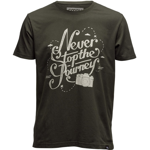 T-Shirt NEVER STOP XL [Tシャツ]