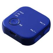 GH-BHRC-BL [オーディオレシーバー Bluetooth4.1 クリップ付 ブルー]