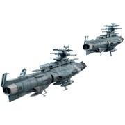 輝艦大全 1/2000 地球連邦主力戦艦ドレッドノート級 2隻セット [宇宙戦艦ヤマト2202 愛の戦士たち 1/2000スケール 全高約125mm 塗装済可動フィギュア]
