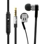 LP-EP06SV [極の音域 SQUARE(スクエア) iPhone/スマートフォン対応 イヤフォン(ボリューム/マイク付) シルバー]