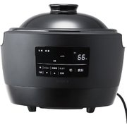 SR-E111 [土鍋電気炊飯器 かまどさん電気 3合炊き ブラック]