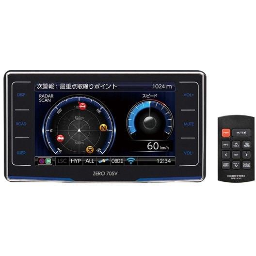 ZERO 705V [レーダー探知機]