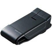 CAR-HLD9BK [スマートフォン用クリップ型車載ホルダー(強力ゲル吸盤)]