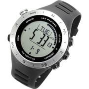 LAD048sv-no [腕時計 SENSOR MASTER V ドイツ製センサー搭載/心拍/天気/高度計/方位計/気圧計/USB充電式]