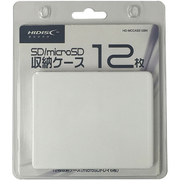 HD-MCCASE12WH [SDカードケース 12枚 ホワイト]