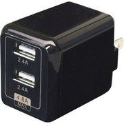 CUBEAC248BK [USB充電器 cubeタイプ 248 ブラック]