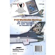 EP48261 オランダ空軍 F-16A 第315 ライオン 飛行隊 [1/48 デカールセット]