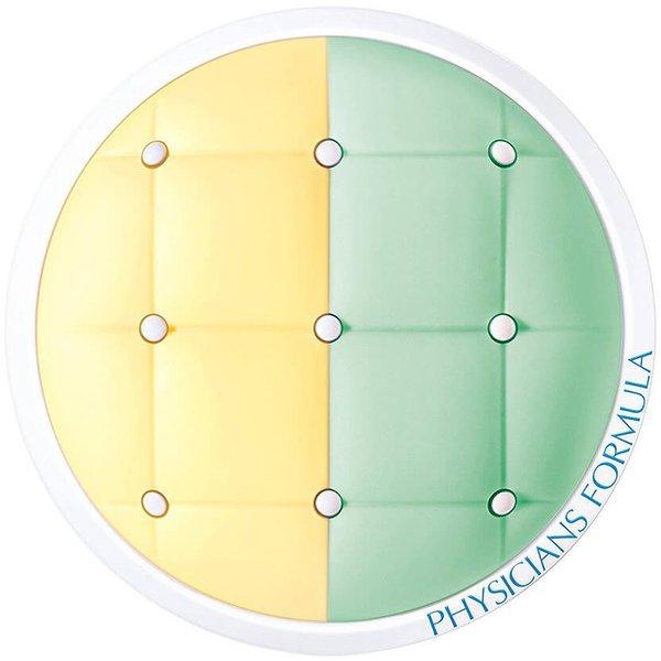 MCC01 ミネラルウェア クッションコレクター+プライマーデュオ Yellow/Green [化粧下地]