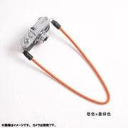 DCS-005227 [カメラストラップ 95cm オレンジ/モスグリーン]