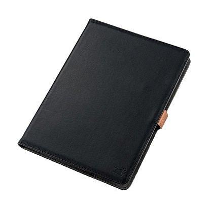 TB-10360BK [タブレット汎用ブックタイプケース ソフトレザー 360度回転 8.5~10.5inch ブラック]