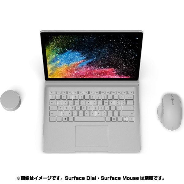 HMW-00034 [Surface(サーフェス) Book 2 13.5インチ/第7世代 Intel Core i5/メモリ8GB/256GB/iGPU/Office Home & Business 2016/シルバー]