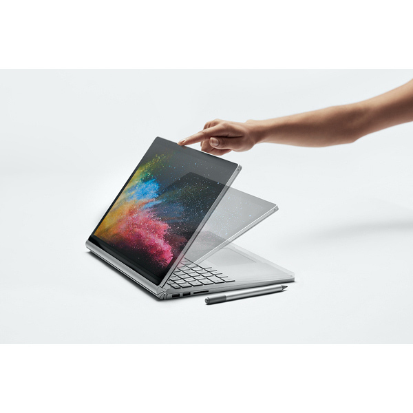 HNL-00023 [Surface(サーフェス) Book 2 13.5インチ/第8世代 Intel Core i7/メモリ16GB/512GB/dGPU/Nvidia GEFORCE GTX 1050/Office Home & Business 2016/シルバー]