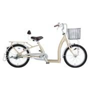 9012 [シニア向け自転車 Cogelu neo(こげーるneo) 20型 3段変速 アルミフレーム シャンパンゴールド]