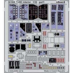 EDU32924 [T-28Cトロージャン内装エッチングパーツ (キティホーク用) 1/32 エッチングパーツシリーズ]