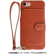RAK-Ca7-01-car [RAKUNI(ラクニ) Leather Case for iPhone 7/8用 キャラメル]