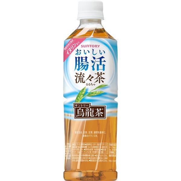 サントリーおいしい腸活 流々茶(機能性表示食品) 500ml×24本