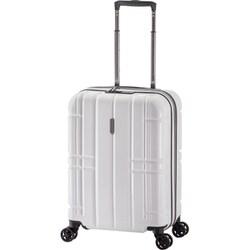 ALI-MAX185 [スーツケース ALi MAX 旅行日数目安:2~3泊 40L/拡張時47L TSAロック搭載 機内持ち込み可 ホワイト]