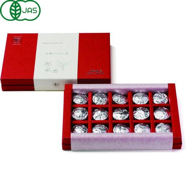 海東銘茶 有機ジャスミン茶ギフト 5g×15袋
