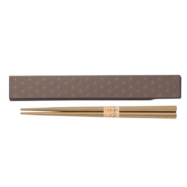 和MON 箸&箸箱セット 麻の葉