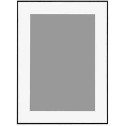HFA-03BWM-A3N [アルミ額 HFA-03 ブラック(ホワイトマット) A3ノビ]