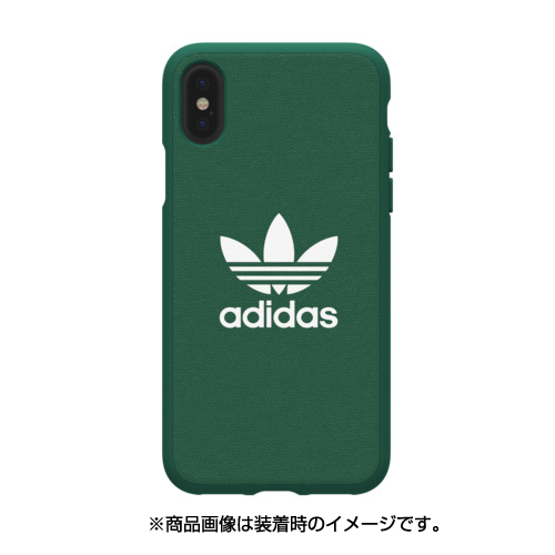 29944 [iPhone X ケースadidas OR-Adicolor-Moulded Case Collegiate Green]