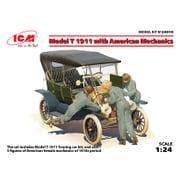 24010 [1/24 カーモデルシリーズ T型フォード 1911 w/アメリカ 女性整備士]
