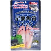 足裏角質パックAG ブラックミントの香り 1P [フットケア]