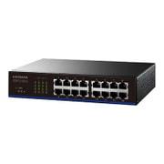 ETX-ESH16NC [EEE省電力機能搭載100BASE-TX/10BASE-T 対応スイッチングハブ (16ポート) ブラック]