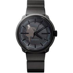 WNW-SB12A B [wena wrist Three Hands Mechanical Premium Black BLACKJACK Edition wena×手塚治虫生誕90周年 ブラックジャックモデル]