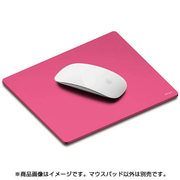 EL_MSAMPALAP_HP [elago(エラゴ) ALUMINUM MOUSEPAD for MOUSE HotPink(ホットピンク)]