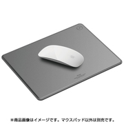 EL_MSAMPGLLM_GY [elago(エラゴ) LEATHER MOUSEPAD for MOUSE DarkGray(ダークグレイ)]