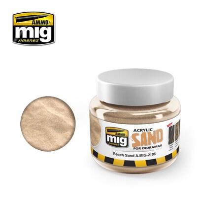 AMO-2106 アクリルテクスチャー 砂地 250ml [プラモデル用塗料]