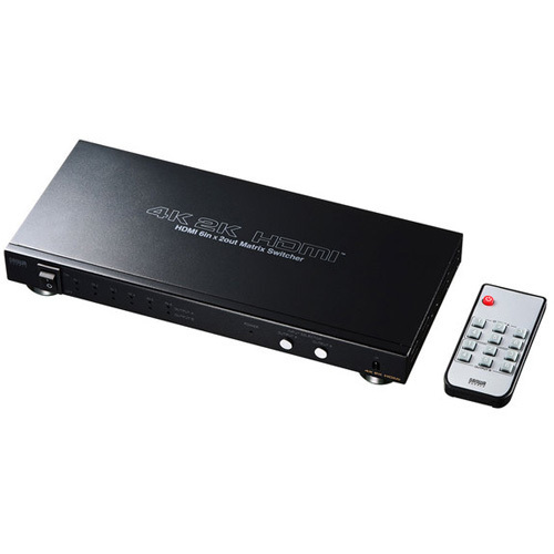 SW-UHD62 [HDMI切替器(6入力2出力・マトリックス切替機能付き)]