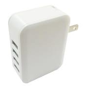 AJ-598 [AC充電器/USB4ポート/自動識別IC搭載]