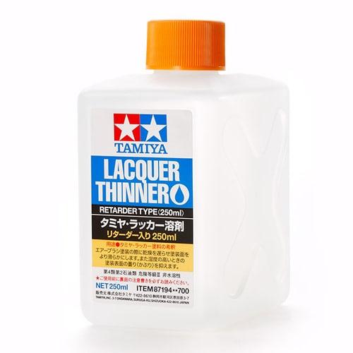 87194 [タミヤ・ラッカー溶剤 リターダー入り 250ml]