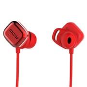 QCY-M1PRO RED [Bluetoothイヤホン マグネットスイッチ式 レッド]