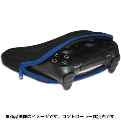 CC-MLCSP-BL [PS4/Nintendo Switch用 コントローラー収納ポーチ ブラックブルー]