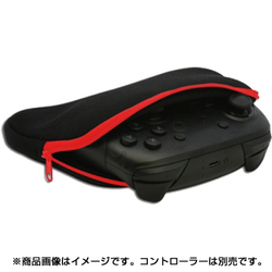 CC-MLCSP-RD [PS4/Nintendo Switch用 コントローラー収納ポーチ ブラックレッド]