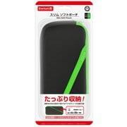 CC-NSSSP-BG [Nintendo Switch用 スリムソフトポーチ ブラックグリーン]